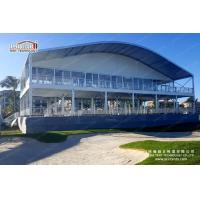 Buy cheap 50m Width Arcum Shape Double Decker Tents For Outdoor Exhibition Event from wholesalers