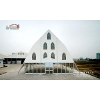 Buy cheap 2017 New Design Clear Span Church Tents with Glass Walling System for ceremony from Wholesalers