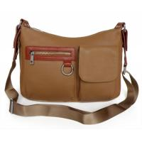 Buy cheap Wholesale Price New Design Real Leather Apricot Shoulder Messenger Bag #2578 product