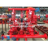 Buy cheap High Prcision Fire Water Pump Package , Fire Pump Skid Package 500GPM@105PSI product