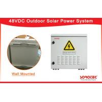 Buy cheap Wall Mounted Telecom Solar Power Systems With Reverse Polarity Protection SHW48100 product