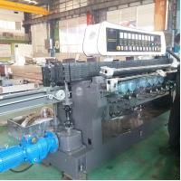 Buy cheap High Efficiency Glass Straight Line Beveling Machine Double Glazing Equipment,Straight-Line Glass Beveling Machine product