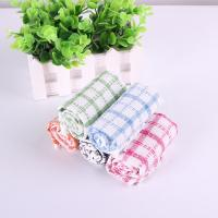 Buy cheap Kitchen Yarn Dyed Towels Stripes Printed Tea Towels With Colorful Checkered For Dry Pot product