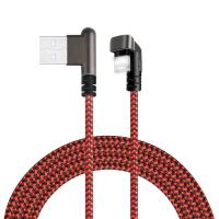 Buy cheap Mobile Fast Charging USB Cable For iphone 7 charger Red Color CE FCC ROHS product