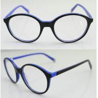 Buy cheap Fashion Round Blue Acetate Optical Frame For Men, Women 47-20-137mm product