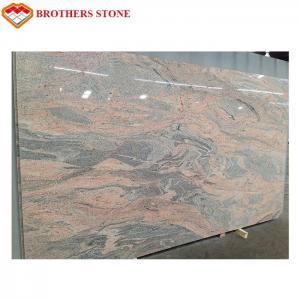 Buy cheap Exterior Polished Granite Stone , Juparana Pink / Juparana Colombo Granite product