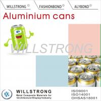 Buy cheap Acid Or Alkali Proof Color Coated Aluminum Coil For Beer Cans / Aluminium Colour Coated Sheet product