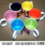 Buy cheap Export inside colors sublimation ceramic mug custom LOGO 7102 mark cup product