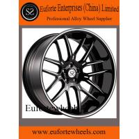 Buy cheap 2pcs 8.0 - 12.5 Width Concave Forged Wheels / Black 19 Inch Rims product