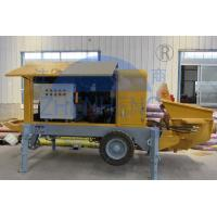 Buy cheap Buildings Diesel Concrete Pump Equipment 15m3 / H Output 2050kg Weight product