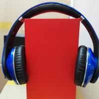 Buy cheap 2012 noise cancelling studio headpones headset earphones blue color free shipping product