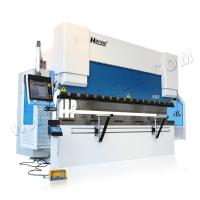 Buy cheap 100ton 3000m 3100mm 3200mm iron aluminum copper sheet hydraulic press brake machine product
