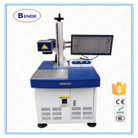 Buy cheap Stainless steel Machinery industry efficient portable laser marking machine product