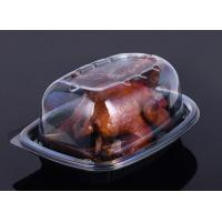 Buy cheap Take away disposable microwavable food container- Plastic PP Roasted Chicken Box product