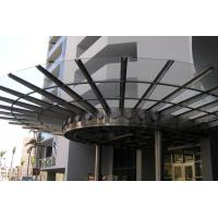 Buy cheap Ultra Long Durability Metal Canopies And Awnings Rainwater Self Cleaning Sound Absorbing product