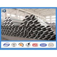 Buy cheap Q345 Material 35FT 3mm Thick Hot Dip Galvanized Electric Steel Poles product