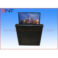 Retractable FHD Screen LCD Desk Monitor Lift  For Advanced Office System