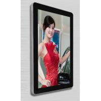 Wall Mounted HD LCD Digital Signage Kiosk , Advertising Machine