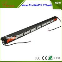 Quality Wholesale price offroad 12v 24v 270w amber/white color led light bar for led for sale