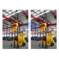 Buy cheap JZR350 Diesel Concrete Mixer Machine With Hydraulic Lift Ladder product