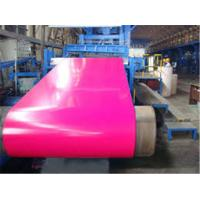 Buy cheap HPC , PVDF Paint Type Color Coated Aluminum Coil  Anti - Scratch Prepainted from Wholesalers