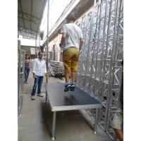 Buy cheap Simple  Anti-slip Waterproof Plywood Movable Stage Platform For Concert product