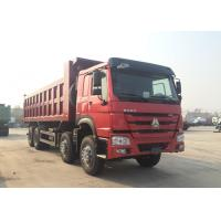 Buy cheap Hydraulic 8*4 Backward Tilting Mining Dump Truck For Material Transportation product