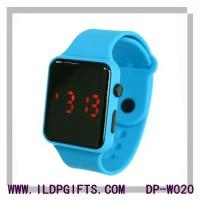 China Red light LED sport  watch apple style on sale