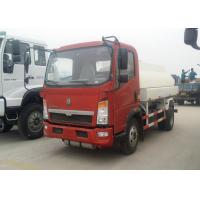 Buy cheap 6 Wheels Oil Tanker Truck 91HP Diesel Engine 5 Ton Payload Capacity product