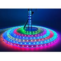 Buy cheap Flexible 5M Magic RGB LED Strip 16.4Ft  WS2812B 300LEDS 100 Pixels Colorful product