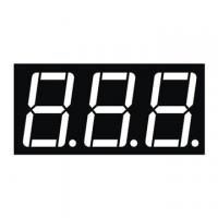 Buy cheap 0.56 Inch Red Triple Digit 7 Segment Numeric Display Low Current Operation product