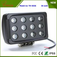 """Buy cheap 7"""" 36W 3600LM LED work light in optional spot or flood beam for tractor,jeep,SUV and 4WD product"""