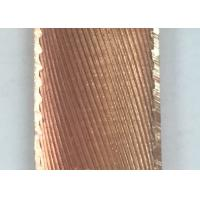 Buy cheap Inner Grooved Longitudinal Finned Tubing Red Cooper T2 / TP2 Cooper Nickel Iron Alloy product
