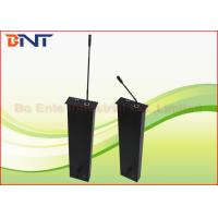 Buy cheap Matte Black Aluminum LCD Motorized Lift , Conference Audio System Microphone Motorized Lifting Mechanism product