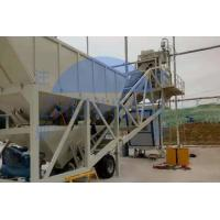 Buy cheap Discharging 1000L Aggregate 7m3×2 Mobile Concrete Batching Plant product