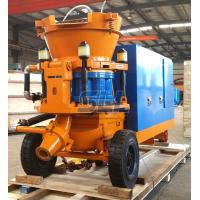 China 5 Cubic Meter Per Hour Concrete Spraying Machine , Tunnel Construction Mini Concrete Pump on sale