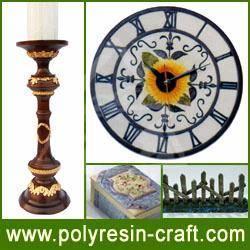 Buy cheap Polyresin Craft-Polyresin Clock product