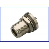 Buy cheap RF coaxial cable connector n-type straight waterproof female connector RG142,400,223 product