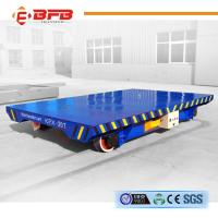 Buy cheap Heavy Duty Industrial Field Powered Transfer Car Material Handling product