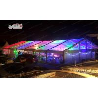 Buy cheap Waterproof Luxury Outdoor Event Tents With Transparent PVC Fabric Roof from Wholesalers