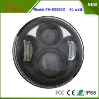 """Buy cheap 2015 Newest 5.75"""" Round 40W High beam/Low beam LED headlight for Harley Motorcycle product"""