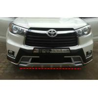 Buy cheap Front And Rear Car Bumper Guard For TOYOTA HIGHLANDER 2014 2015 KLUGER product