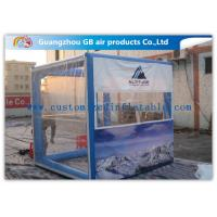 Buy cheap OEM Inflatable Transparent Tent With Removable Walls & Roof for Temporary Storage Shed from Wholesalers