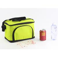 Buy cheap Custom 600D Large Insulated Cooler Bags Zippered Closure Food Storage Foldable product