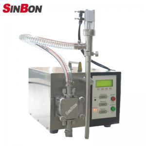 Buy cheap Semi-Auto Liquid Filling machine for home business best liquid filling machine price product