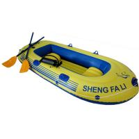 Buy cheap Portable Pvc Inflatable Boat Eco-Friendly With Oars For 3 Person product