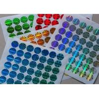 Buy cheap Tamper Evident 3D Custom Holographic Labels For Steroid Label Box Packaging product