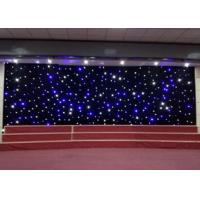 Buy cheap Sky Effect LED Curtain Lights Stage Christmas Backdrop Decoration 0.4W High from wholesalers