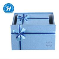 Buy cheap Blue Custom Luxury Gift Packaging Boxes , Wedding Party Favor Boxes product