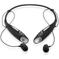 Quality Black / White Neckband In Ear Bluetooth Headset With MP3/SD/DSP/CVC for sale